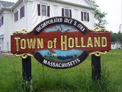 Welcome to Holland, MA