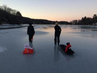 Ice walk