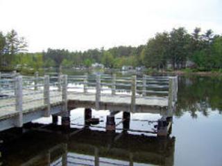 dock over lake