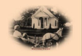 Library circa 1900
